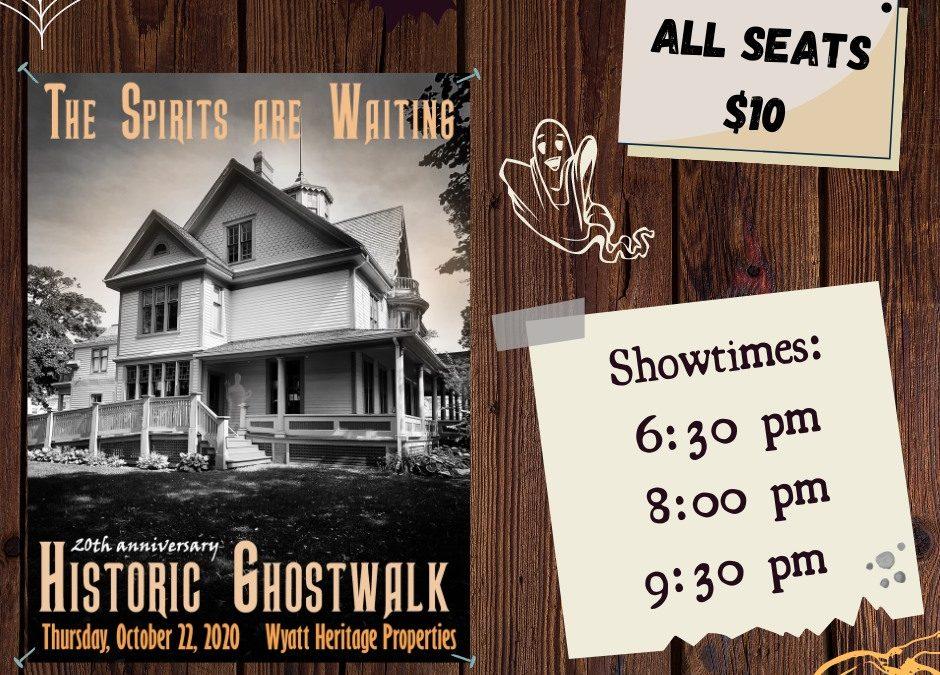 Historic Ghostwalk – 20th Anniversary Ghoulish Gathering
